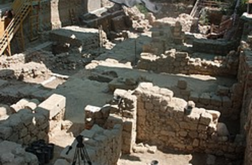 roman mansion city of david 248.88 (photo credit: Courtesy/Antiquities Authority )