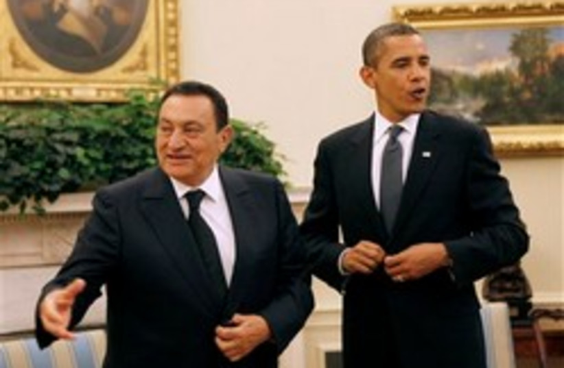 mubarak obama 248.88 (photo credit: AP)
