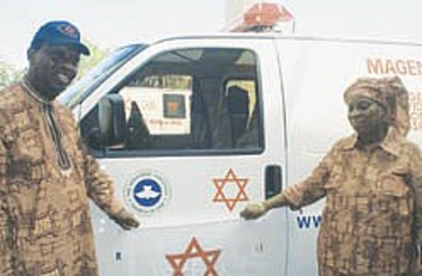 african church ambulance mda 248.88 (photo credit: MDA)
