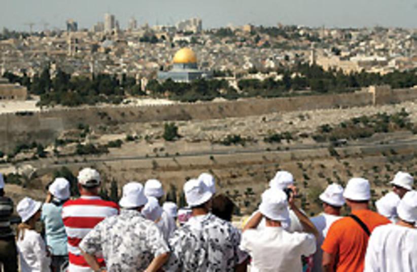 Jerusalem tourists 88 248 (photo credit: Ariel Jerozolimski)