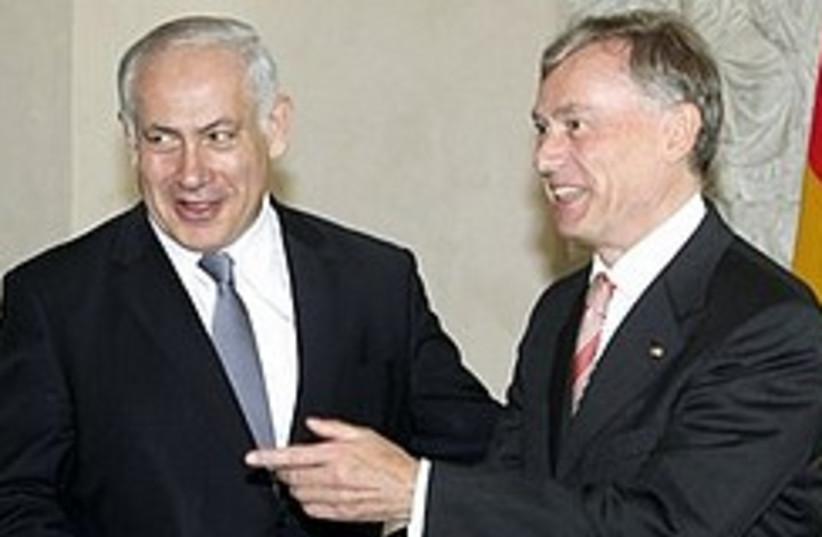 Netanyahu Koehler  248.88 (photo credit: )