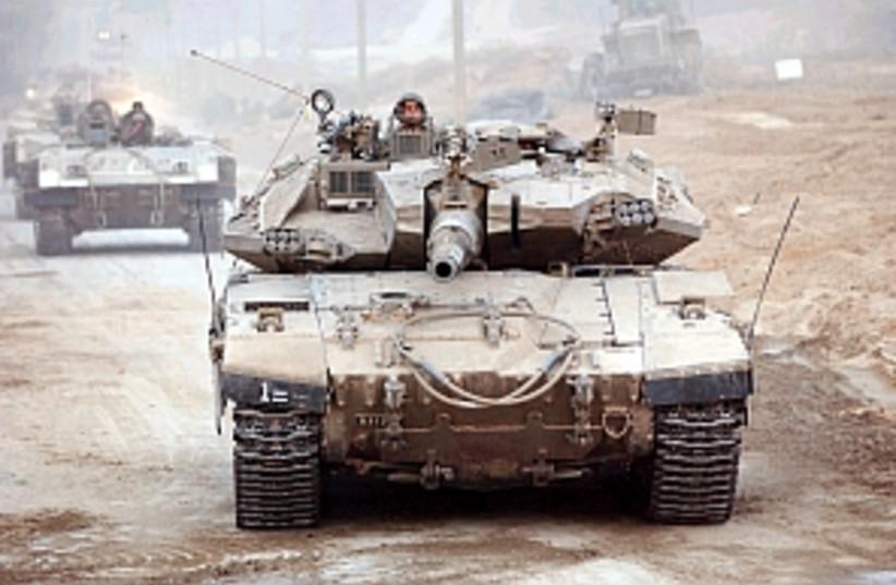 merkava tank 298 88 (photo credit: Ariel Jerozolimski [file])