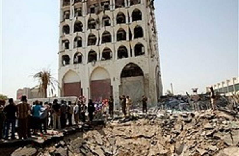 Iraqi foreign ministry bomb 248.88 (photo credit: AP)