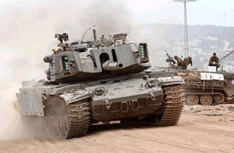 tank drives in jenin 298 (photo credit: Ariel Jerozolimski [file])