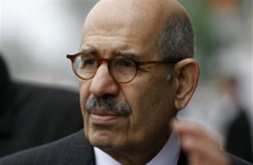 Mohamed ElBaradei 248.88 (photo credit: AP [file])