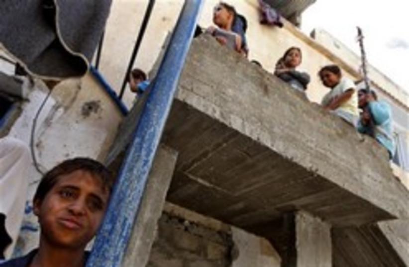 gaza kid 248.88a (photo credit: AP)