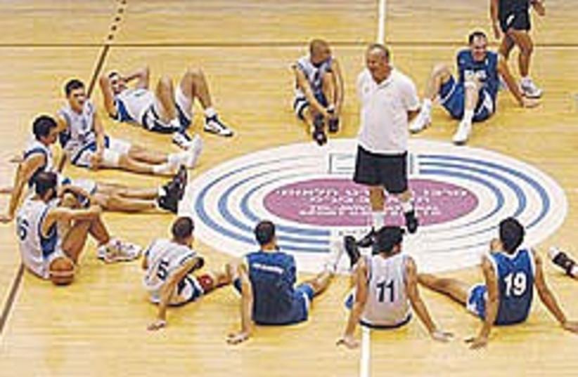 Israel basketball Sherf 248.88 (photo credit: Asaf Kliger)