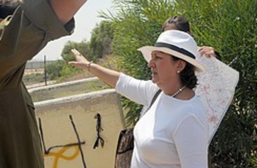 Delia Blanco Teran Sderot  248.88 (photo credit: Danielle Manson/Elnet)