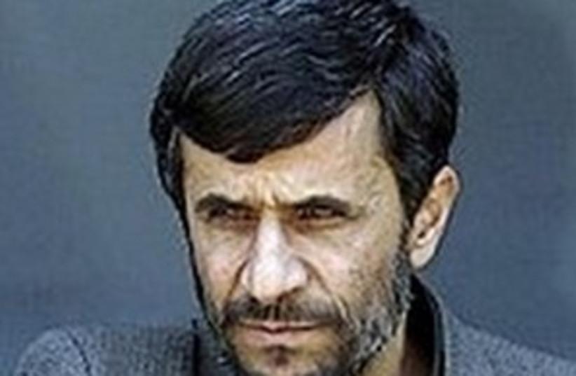 Ahmadinejad (photo credit: AP)