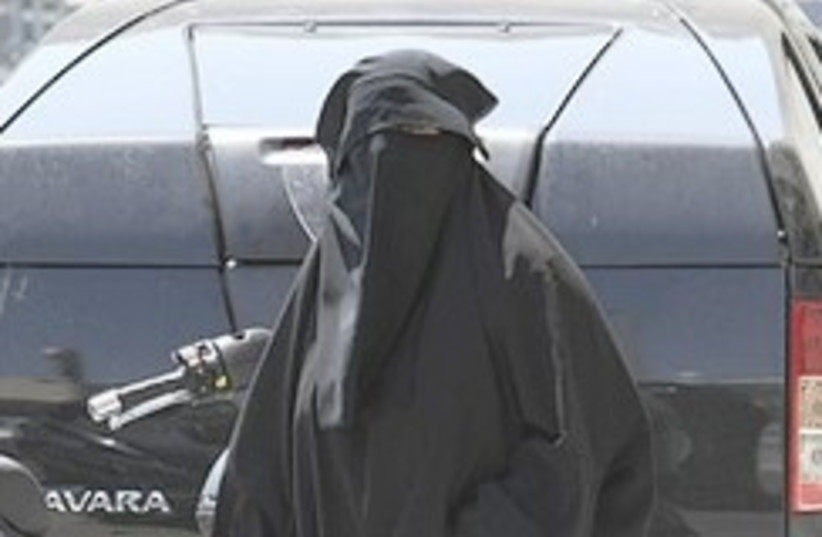 Marseille niqab 248.88 (photo credit: AP)