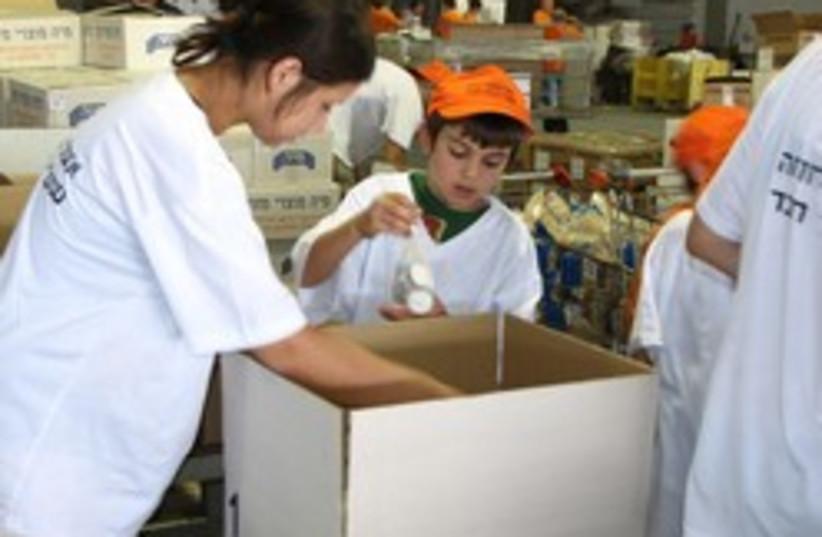 IFCJ food basket charity 248.88 (photo credit: )
