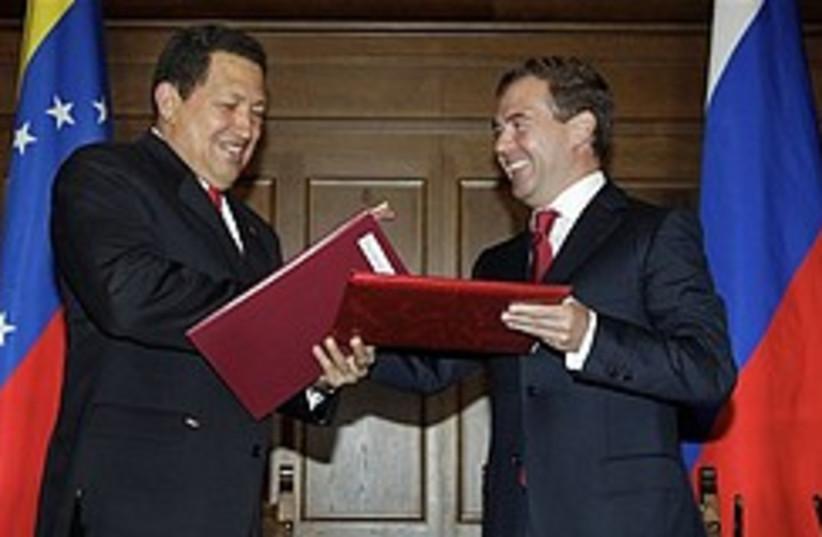 Chavez Medvedev deal 248.88 (photo credit: )