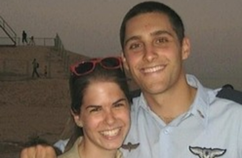 assaf ramon with friend smiling 248 88 (photo credit: Channel 2)