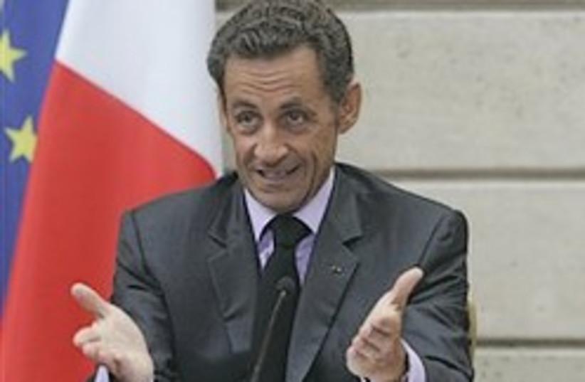 Sarkozy do me a favor 248.88 (photo credit: )