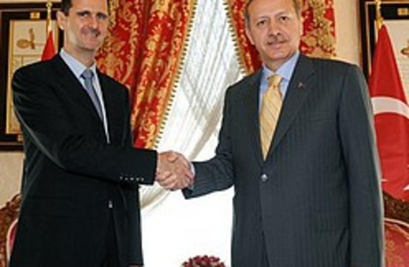 assad and Erdogan  248.88 (photo credit: )