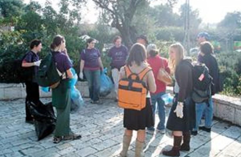 jerusalem cleanup 88.298 (photo credit: )