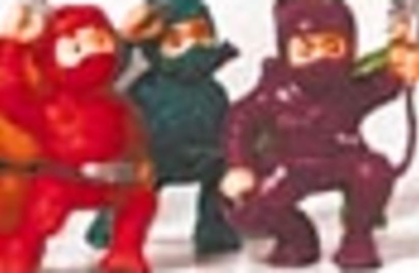 tiny ninjas 88 (photo credit: )