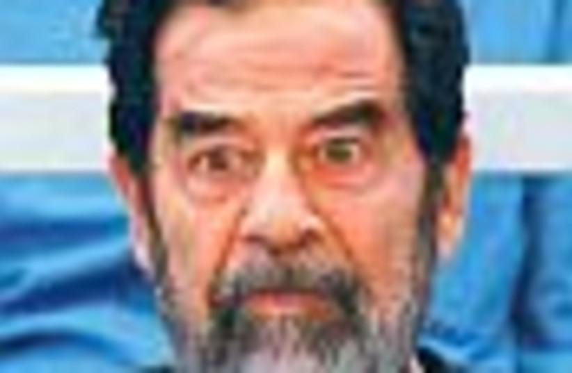 Saddam trial 88 (photo credit: )