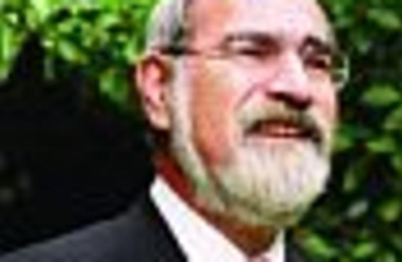 uk rabbi sacks 88 (photo credit: )
