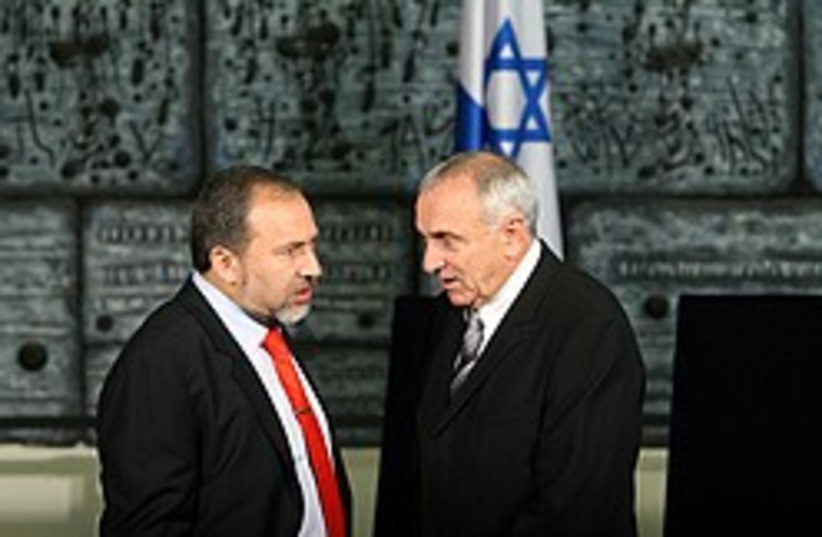 lieberman aharonovitch 248.88 (photo credit: Ariel Jerozolimksi [file])