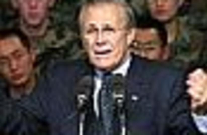 rumsfeld 88 (photo credit: )