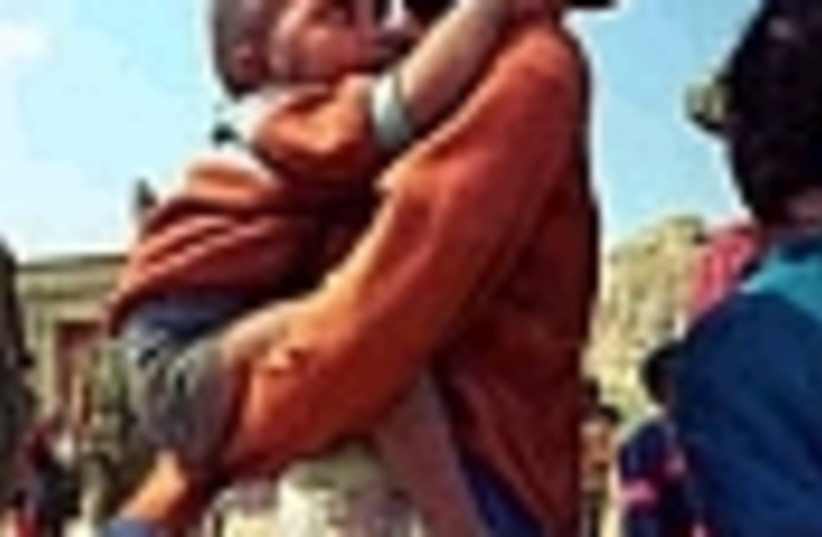 ethiopian mom baby 88 (photo credit: )