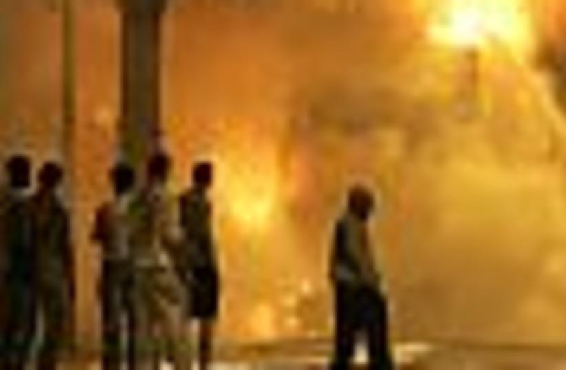 paris riots 88 (photo credit: )