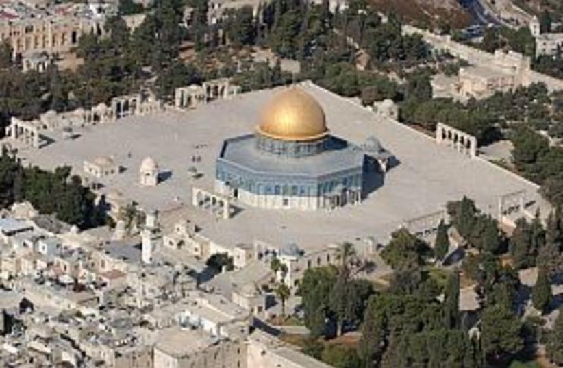 temple mount aerial 298 (photo credit: Ariel Jerozolimski)