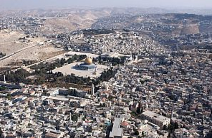 temple mt east jerusalem (photo credit: Ariel Jerozolimski)