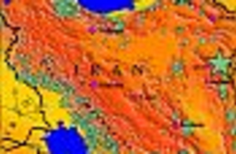 iran map 88 (photo credit: )