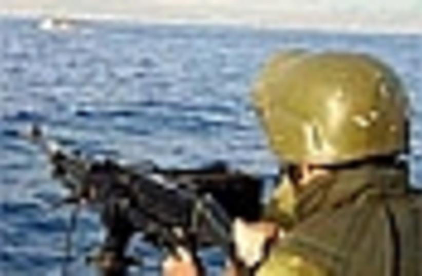naval patrol aiming 88 (photo credit: )