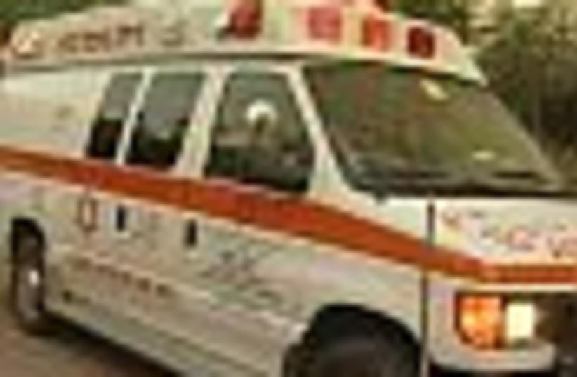 ambulance 88 (photo credit: )