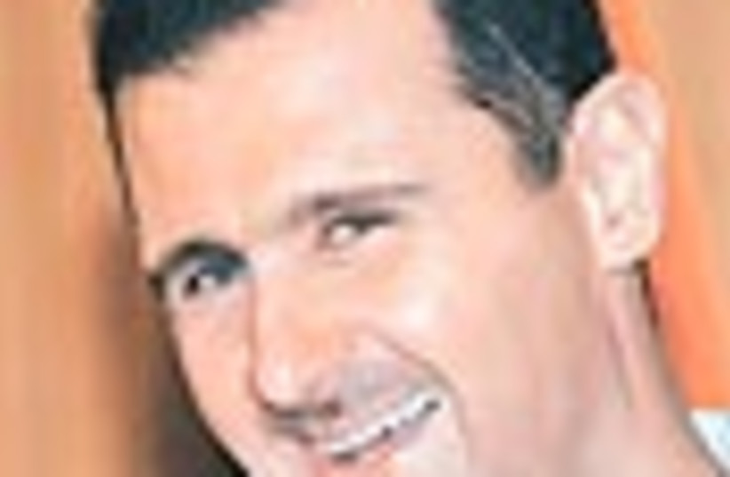 bashar assad 88 (photo credit: )