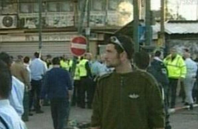 tel aviv blast police 29 (photo credit: Channel 10)