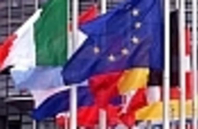 eu flags 88 (photo credit: )