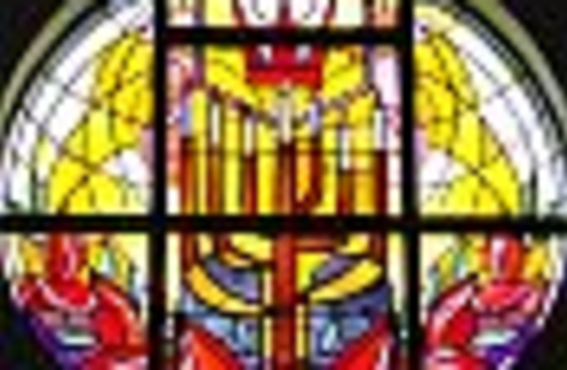 reform stained glass 88 (photo credit: )