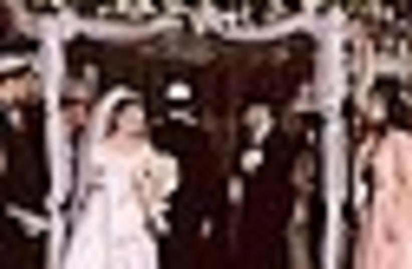 jewish wedding 88 (photo credit: )