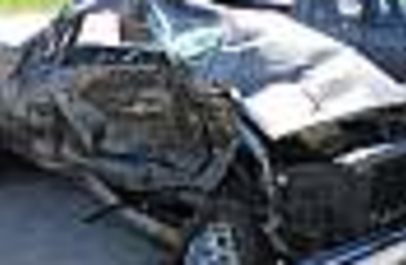 car crash 88 (photo credit: )