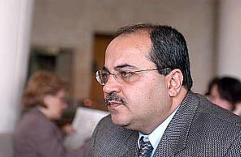 ahmed tibi solemn 298 (photo credit: Ori Porat)