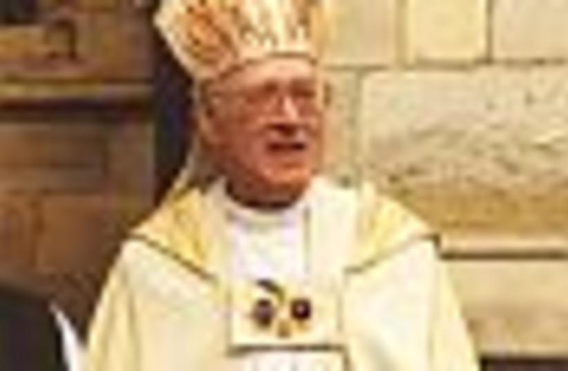 anglican lord carey 88 (photo credit: )