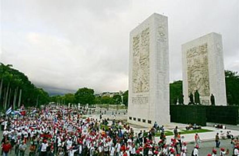 world social forum 298 (photo credit: AP)