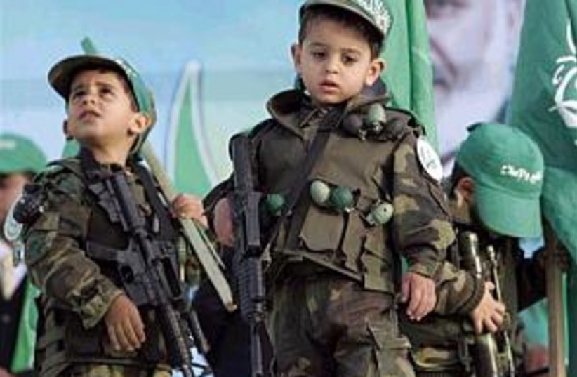 hamas kids 298 (photo credit: AP)