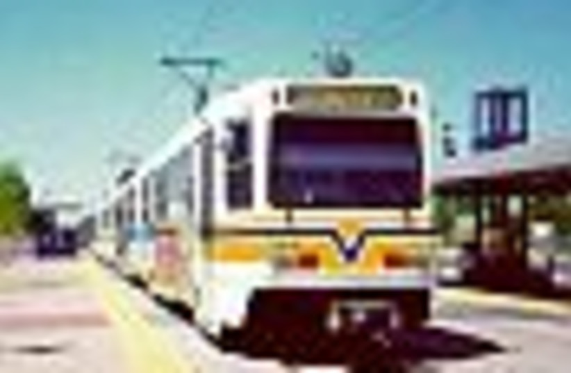 light train 88 (photo credit: )