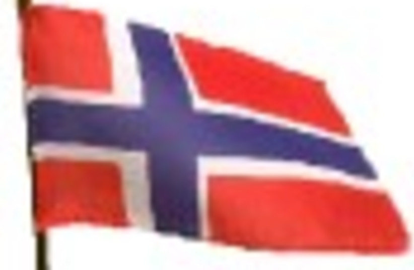 norwegian flag 88 (photo credit: )