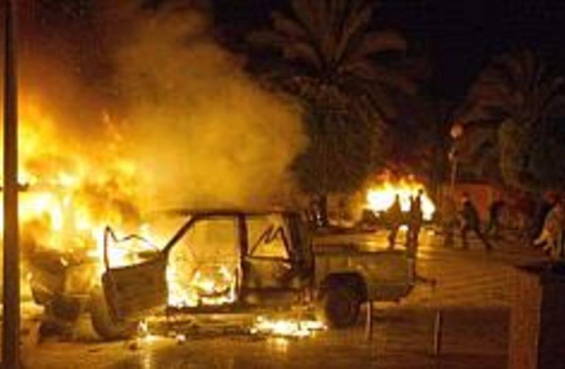 riots in Gaza, Fatah , b (photo credit: AP [file])