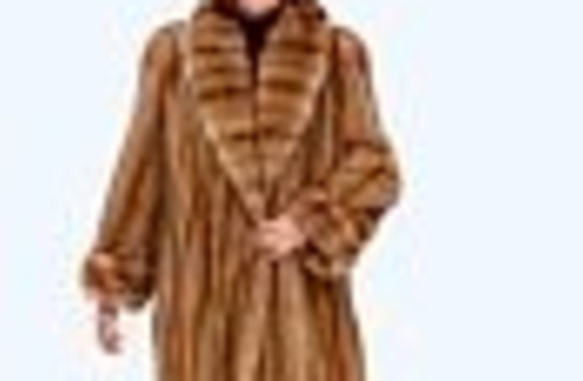 fur coat 88 (photo credit: )