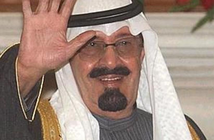 saudi king abdullah (photo credit: AP [file])