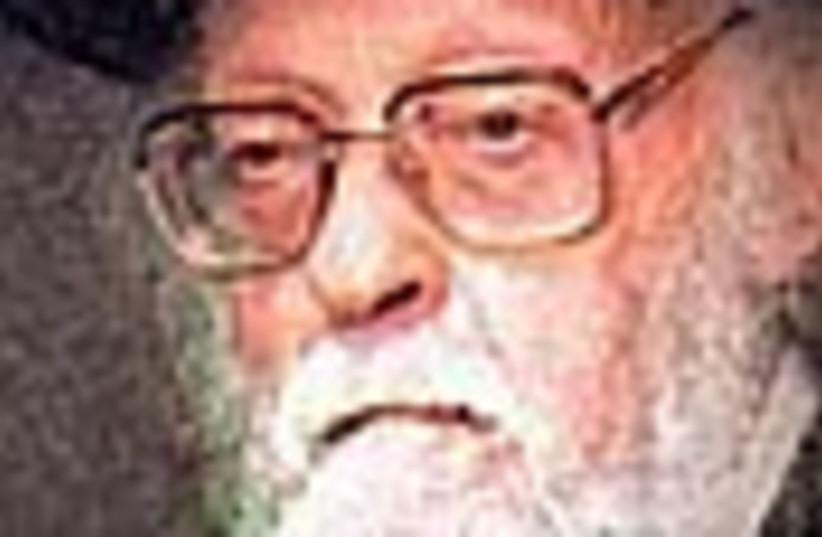 rabbi elyashiv 88 (photo credit: )