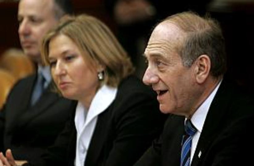 Olmert cabinet 298 (photo credit: AP [file])
