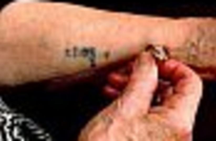 holocaust tattoo 88 (photo credit: )